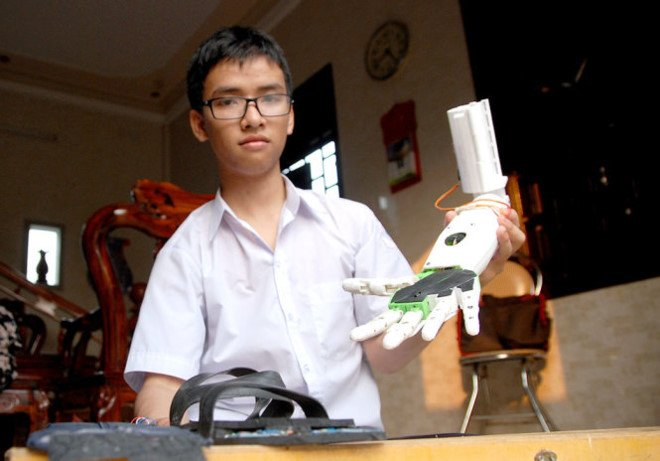 'Canh tay robot' doat giai o My duoc hoan thanh voi 3 trieu dong hinh anh 1