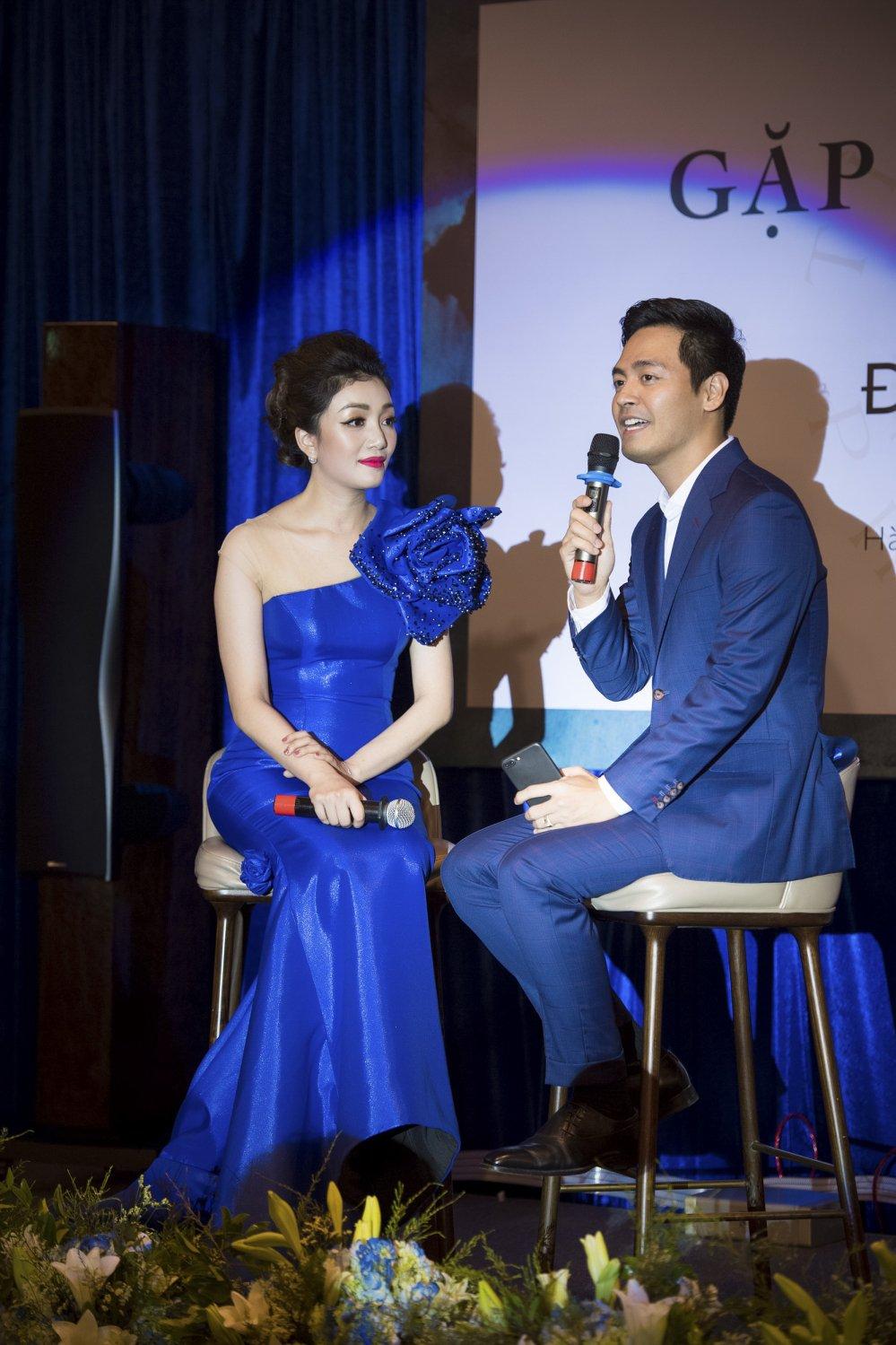 MC Phan Anh toi chuc mung Pham Thu Ha ra album nhac Pham Duy hinh anh 5
