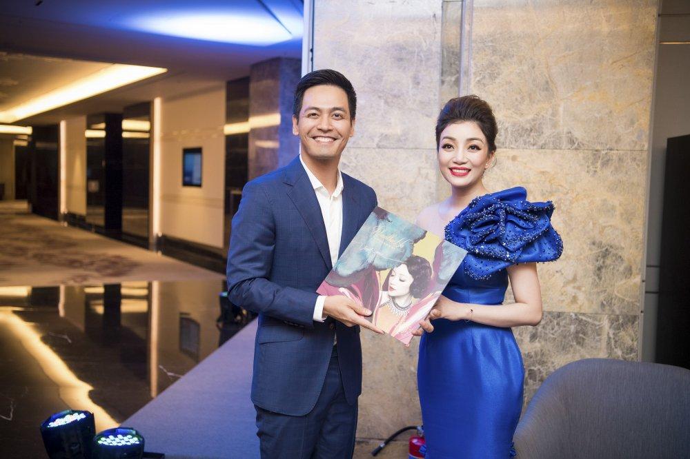 MC Phan Anh toi chuc mung Pham Thu Ha ra album nhac Pham Duy hinh anh 4