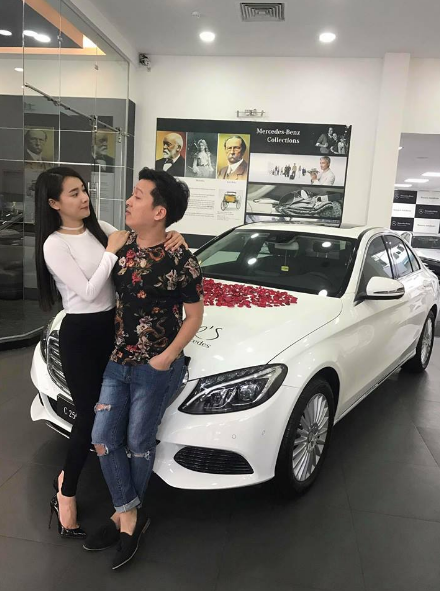 Truong Giang mua xe hoi 1,6 ty dong tang Nha Phuong hinh anh 1