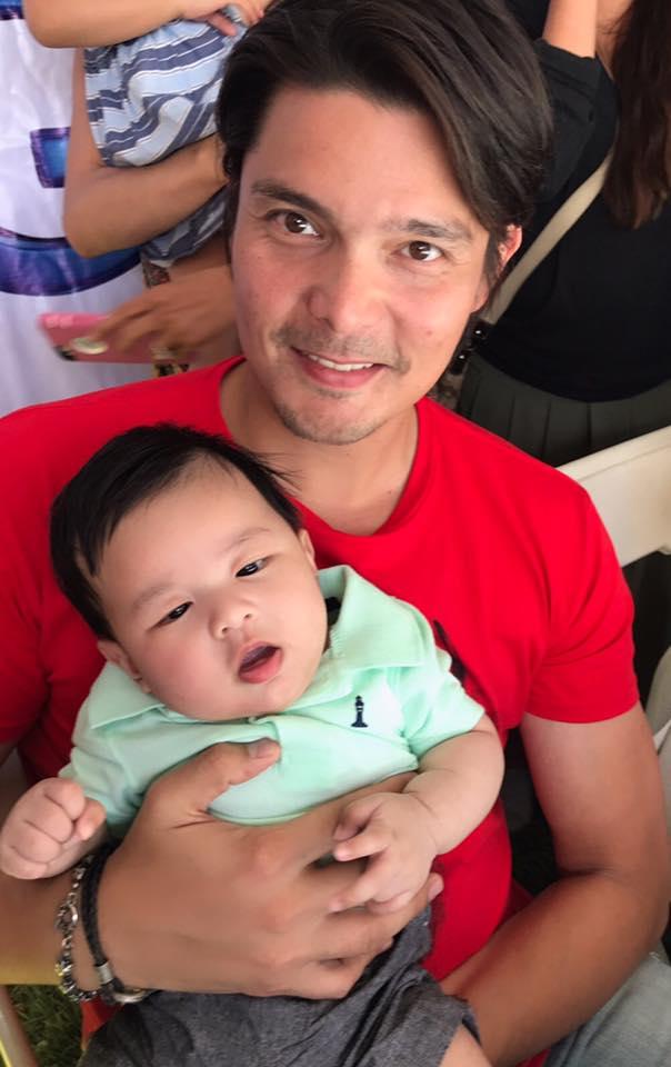 Con trai Dan Truong duoc vo chong 'my nhan dep nhat Philippines' be hinh anh 2