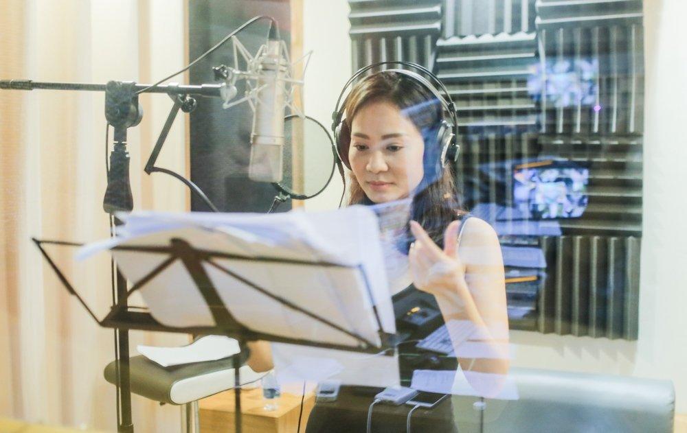 TocTien thuc trang dem de luyen tap cho show Thu Minh hinh anh 2