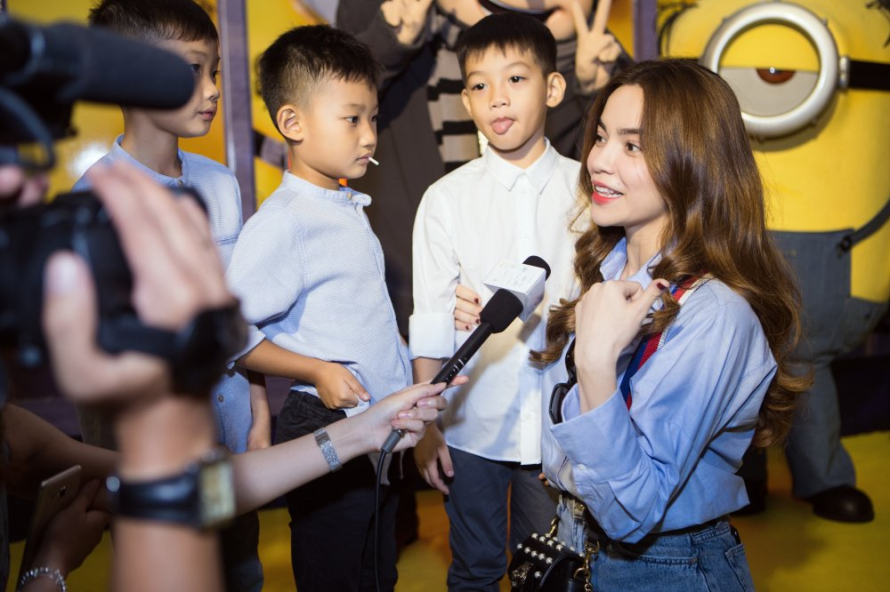 Ho Ngoc Ha rang ro dua Subeo di xem phim hinh anh 4