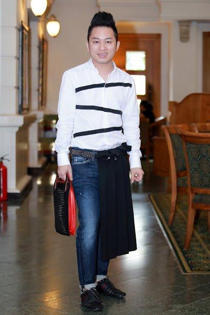 Thanh Lam, Tung Duong tham gia dem dien tu thien cua nha tao mau toc Viet kieu hinh anh 3