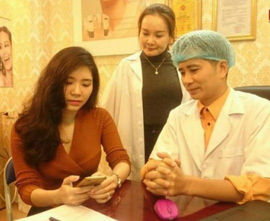 Phu nhan phau thuat tham my, Thanh Bi 'Nguoi phan xu' bi tung anh 'dap mat xay lai' hinh anh 3