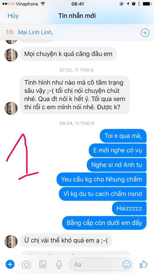 Vo Xuan Bac tiep tuc tung bang chung to NSND Anh Tu chen ep hinh anh 1