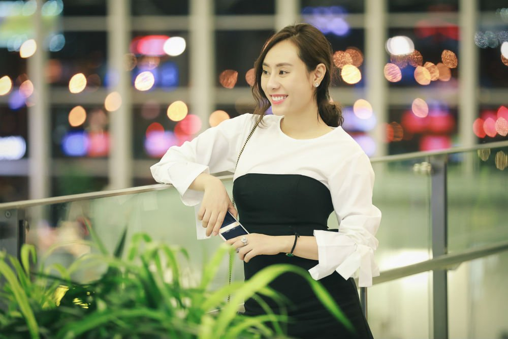 A hau Ngo Thuy Linh len duong lam giam khao tham my quoc te hinh anh 5