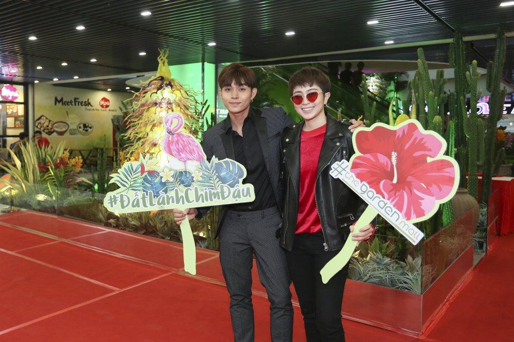 Chi Pu, Gil Le va dan sao toi tham du buoi khai truong khu thuong mai cua vo Thanh Bui hinh anh 5
