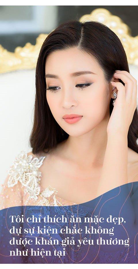 Hoa hau Do My Linh: 'Khong can dan ong giau, chi can truong thanh' hinh anh 1