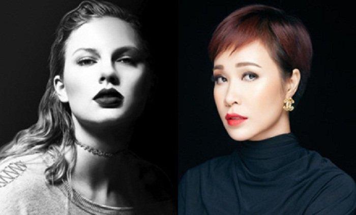 Bi chi trich vi goi Taylor Swift la 'con ran hao trai', Uyen Linh len tieng hinh anh 1
