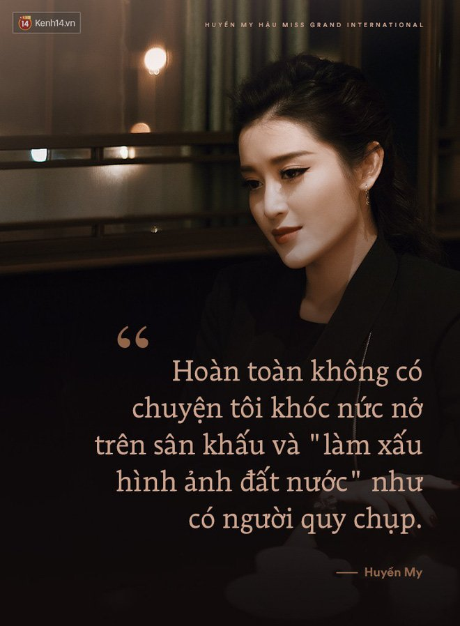 Huyen My: 'Khong hieu dong co nao khien ho co tinh tìm cach boi xau toi' hinh anh 1