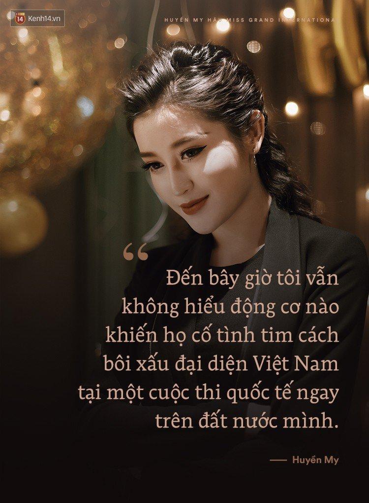 Huyen My: 'Khong hieu dong co nao khien ho co tinh tìm cach boi xau toi' hinh anh 3
