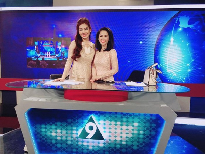A hau Diem Trang dau quan cho VTV, dan 'Toan canh 24h' hinh anh 1