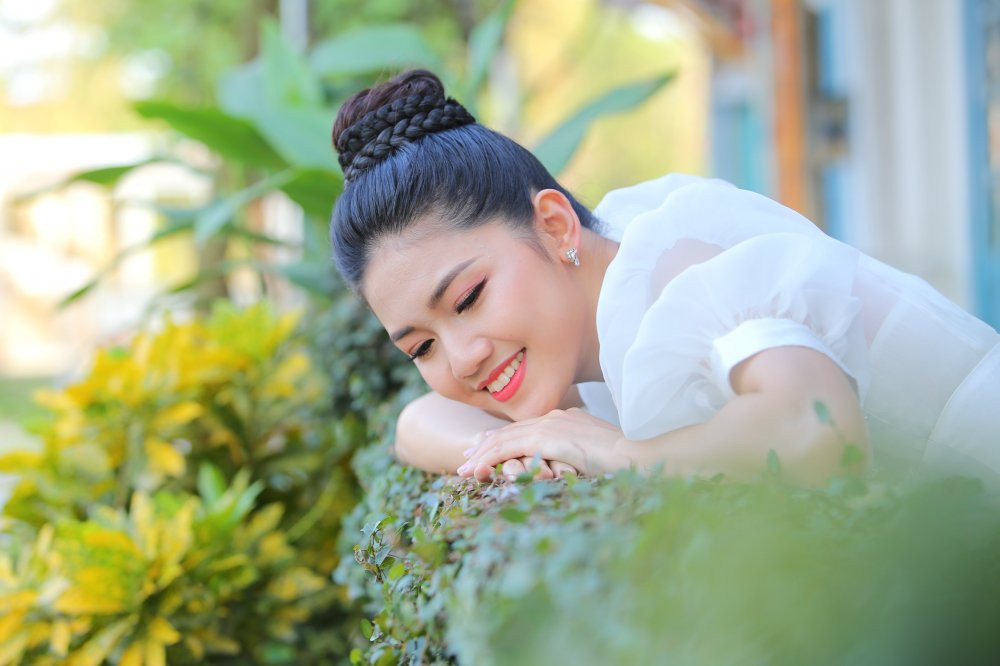 A hau Thanh Tu hao huc don xem vo vu kich co su tham gia cua hon 100 em nho hinh anh 4