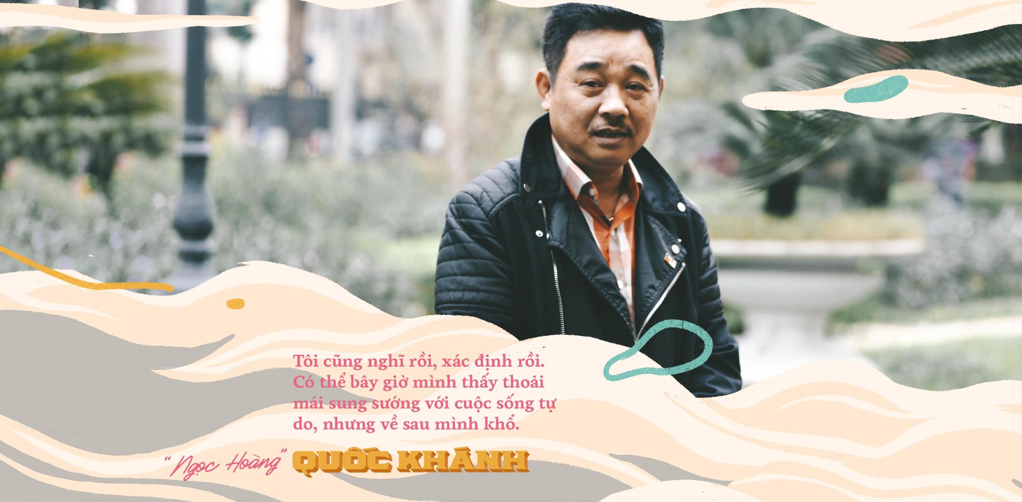 'Ngoc Hoang' Quoc Khanh: Toi chon tu do, sau nay ve gia chiu canh dau don khong ai cham soc hinh anh 2