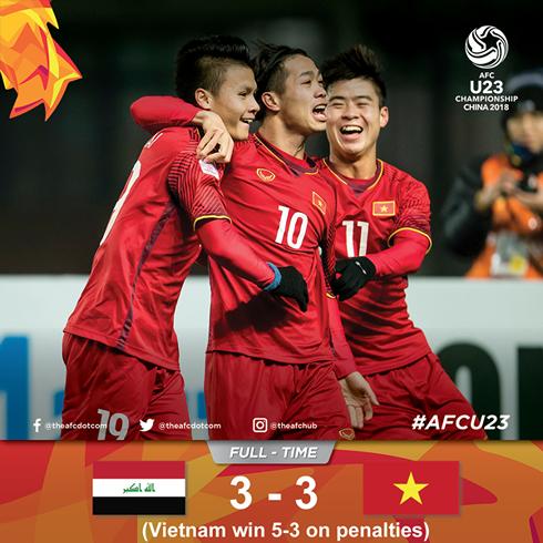 U23 Viet Nam lam rung chuyen chau A: Y chi quat cuong tu niem tu hao dan toc hinh anh 1