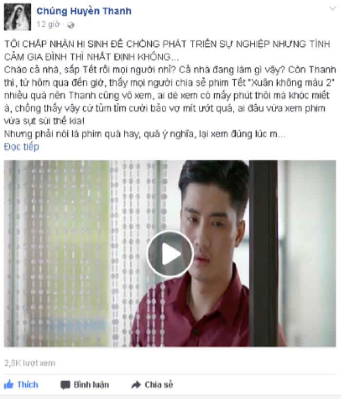 Chung Huyen Thanh: 'Toi san sang hy sinh su nghiep vi chong' hinh anh 2