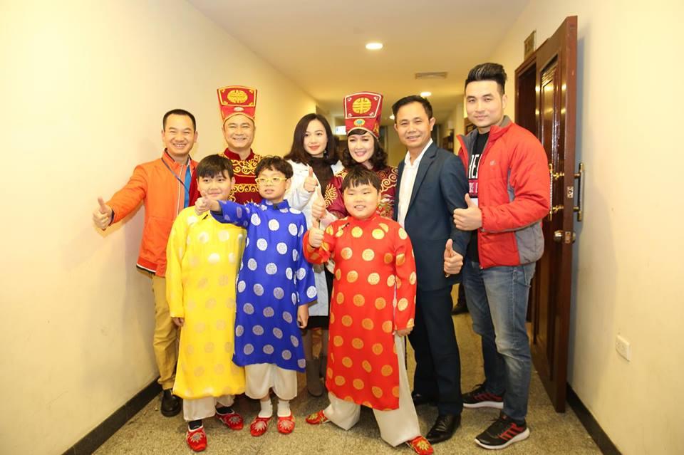 Hai con trai cua Xuan Bac tham gia 'Tao quan 2018' hinh anh 7