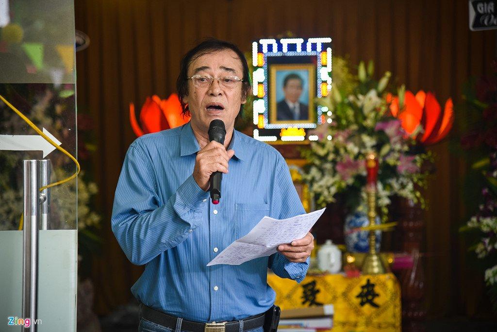 Dien vien Le Tuan Anh va cac nghe si nghen ngao trong le tang Nguyen Hau hinh anh 6