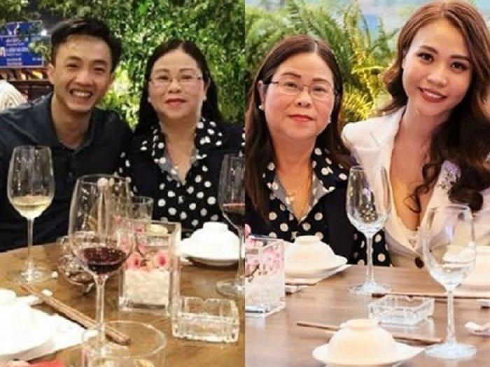 Cuong Do la ve ra mat gia dinh Dam Thu Trang hinh anh 2