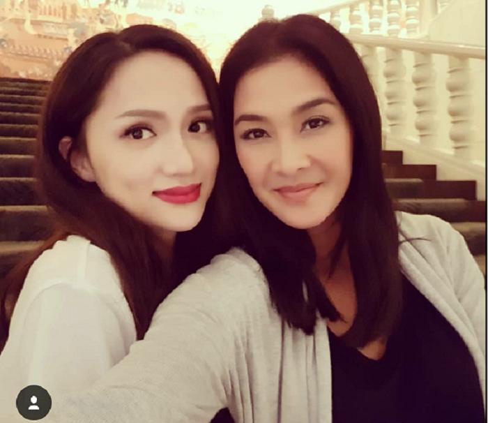 'Chi Dai' Lukkade goi Huong Giang la 'nu hoang cua toi' khi gap mat tai Thai Lan hinh anh 1