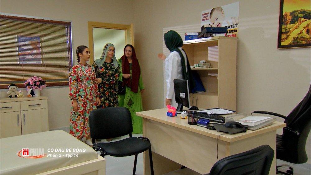 Cô dâu bé bỏng tập 14, 15: 14 tuổi, Zehra đấu tranh để giữ lại cái thai trong bụng