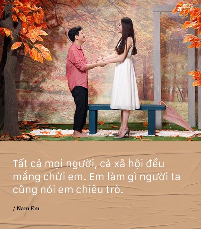Bi noi 'dau oc co van de', Nam Em khang dinh khong gian va van yeu say dam Truong Giang hinh anh 1