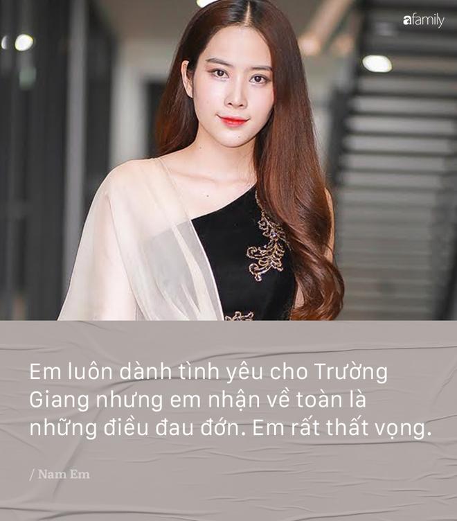 Bi noi 'dau oc co van de', Nam Em khang dinh khong gian va van yeu say dam Truong Giang hinh anh 3