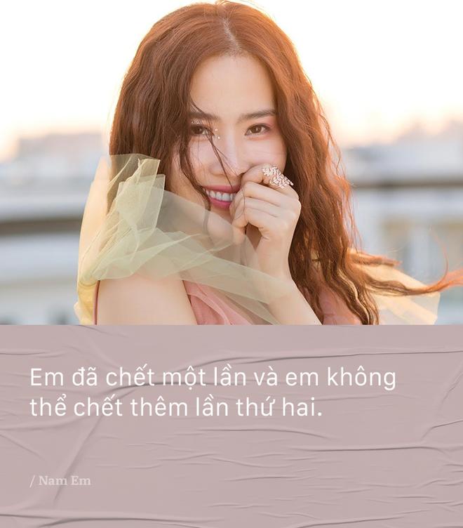 Bi noi 'dau oc co van de', Nam Em khang dinh khong gian va van yeu say dam Truong Giang hinh anh 6