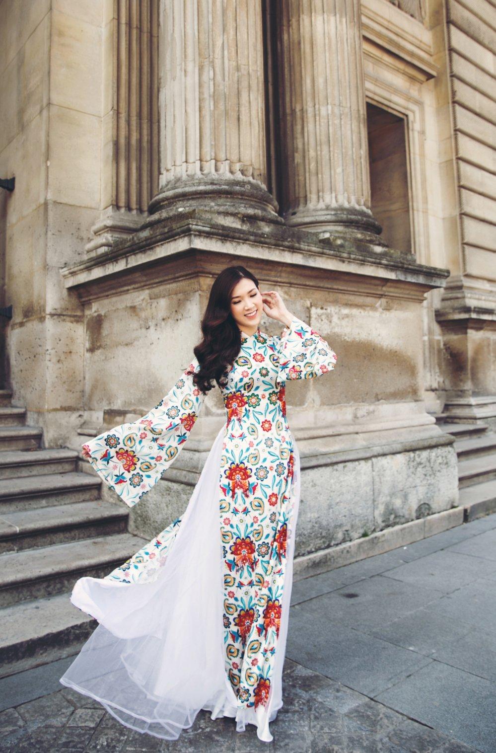 Hoa hau Ao dai 2018 Phi Thuy Linh khoe ong xa doanh nhan dien trai hinh anh 10