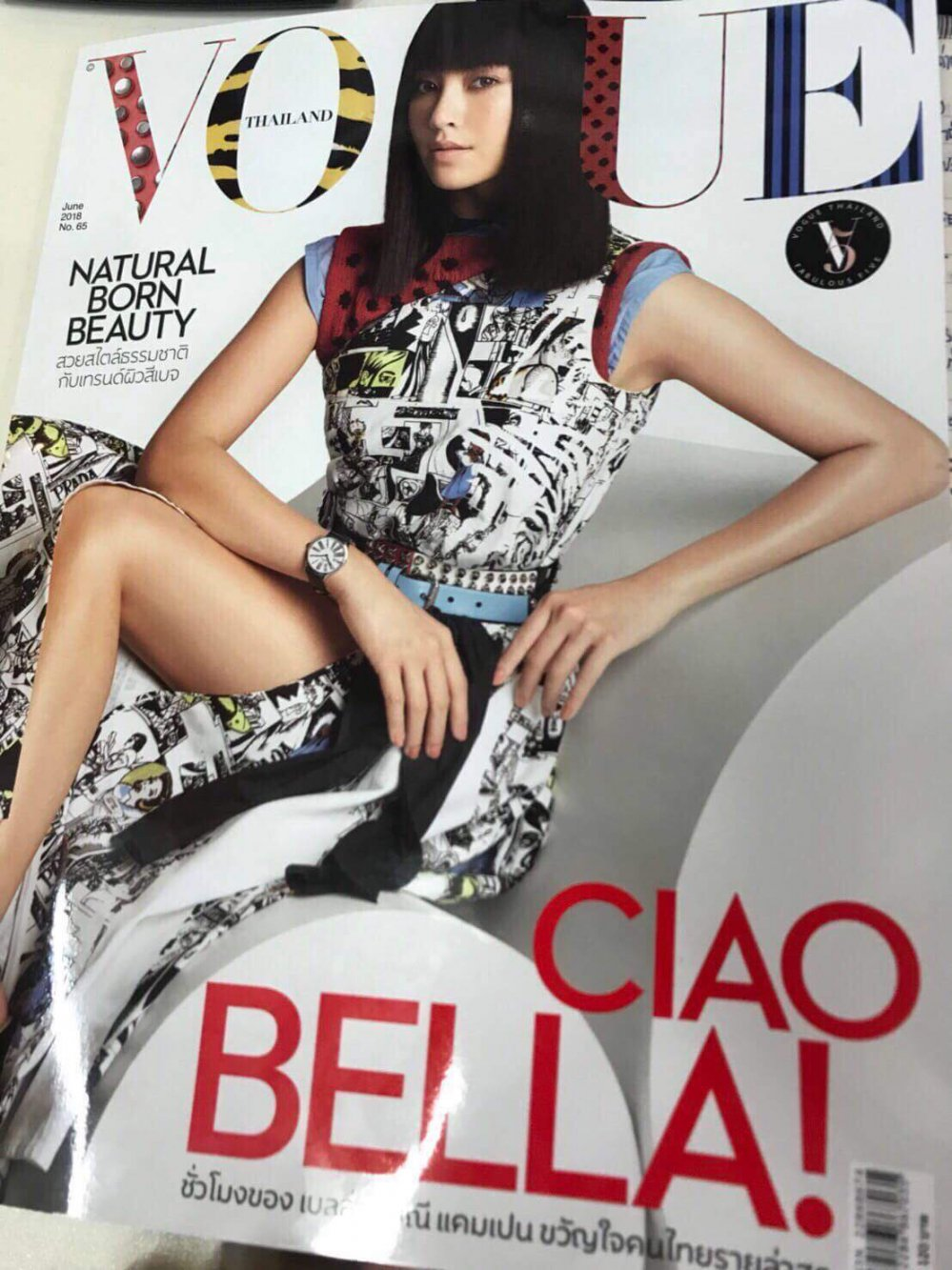 Day la Hoa hau Viet dau tien duoc xuat hien tren tap chi Vogue Thai Lan hinh anh 1
