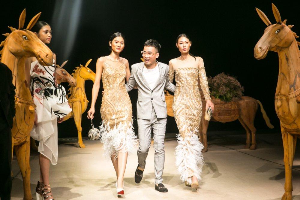 Pham Huong, Mai Phuong Thuy cung gan 600 khach moi tham gia show cua nha thiet ke Ha Duy hinh anh 2