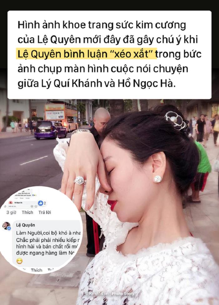 Tu chuyen khoe nhan cua Le Quyen, nhin lai tinh ban da tan vo giua Le Quyen va Ho Ngoc Ha hinh anh 1