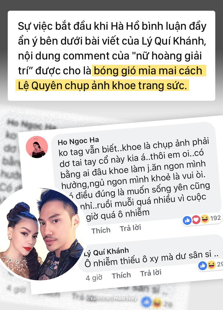 Tu chuyen khoe nhan cua Le Quyen, nhin lai tinh ban da tan vo giua Le Quyen va Ho Ngoc Ha hinh anh 2