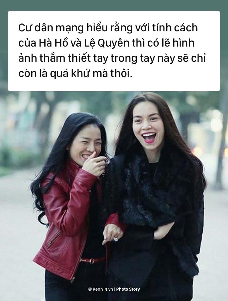 Tu chuyen khoe nhan cua Le Quyen, nhin lai tinh ban da tan vo giua Le Quyen va Ho Ngoc Ha hinh anh 7