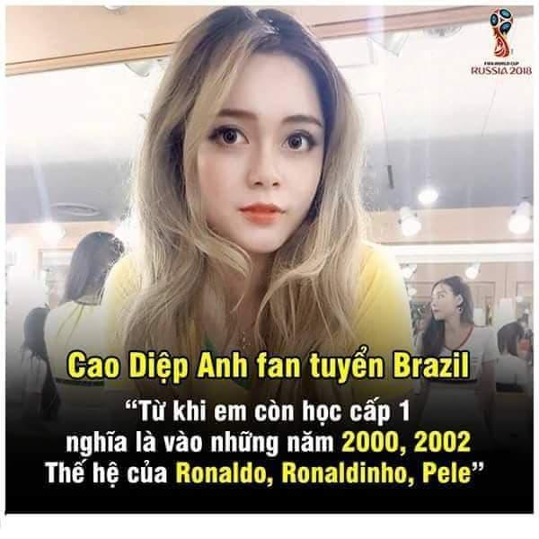 VTV dung dua hot girl binh luan World Cup 2018 hinh anh 1