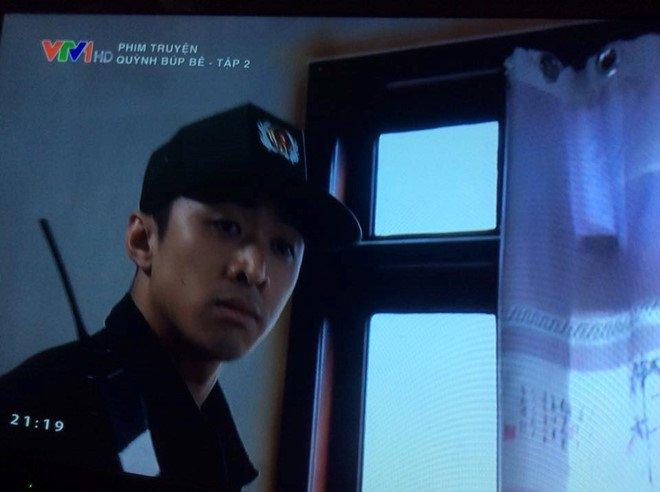 Bao ke dong mai dam trong phim cua VTV mac trang phuc giong cong an, dien vien noi gi? hinh anh 1