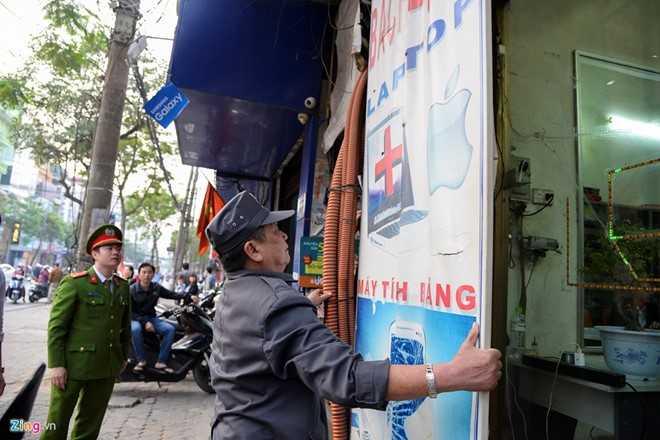 Chu tich Nguyen Duc Chung: 'Cach chuc truong cong an neu via he bi chiem' hinh anh 1