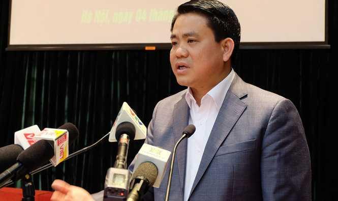 Chu tich Nguyen Duc Chung: 'Cach chuc truong cong an neu via he bi chiem' hinh anh 2
