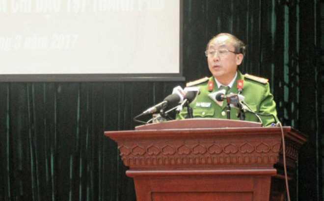 Truong phong Canh sat Trat tu Ha Noi: 'Cang co quan to lai cang khong chap hanh' hinh anh 1