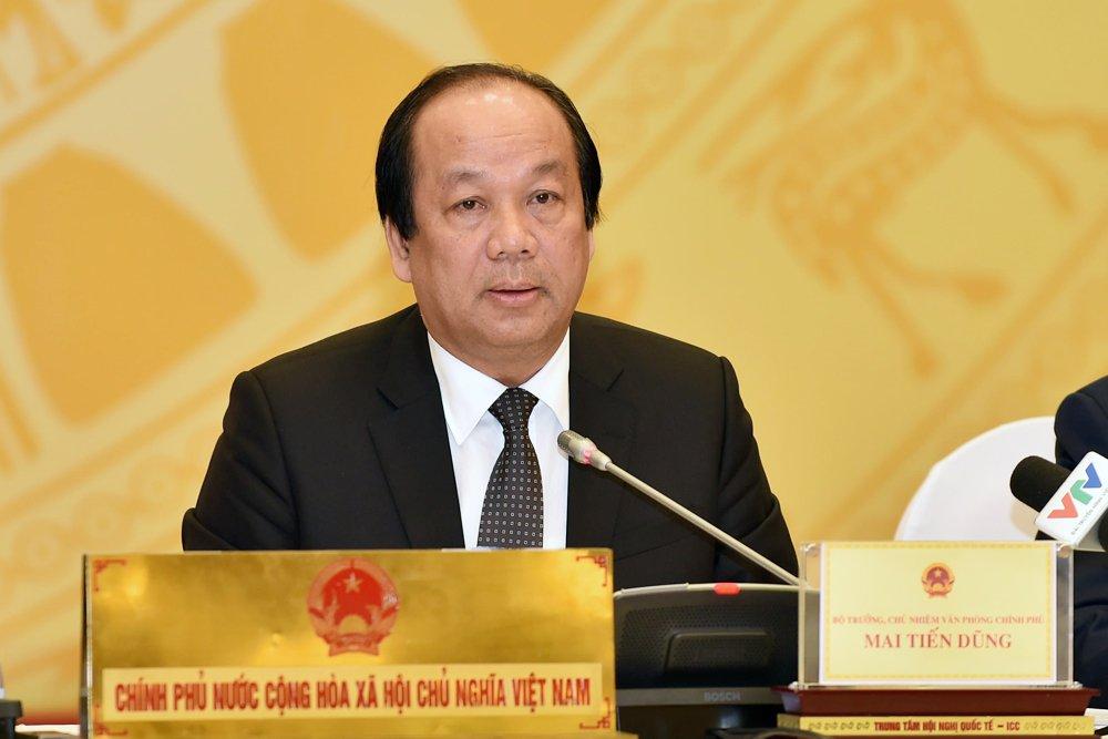 Bo truong Mai Tien Dung: 'Tren duong bay gio khong con xe Lexus bien xanh' hinh anh 1