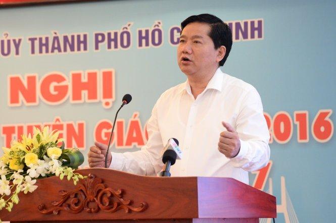 Dau an cua ong Dinh La Thang trong 15 thang lam Bi thu TP.HCM hinh anh 8