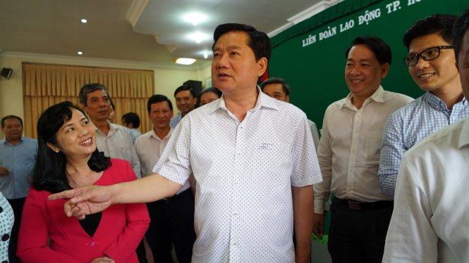 Dau an cua ong Dinh La Thang trong 15 thang lam Bi thu TP.HCM hinh anh 11