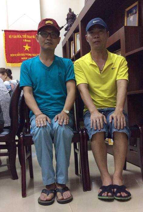 Khong the tin day la dien vien Trung Hieu va Cong Ly hinh anh 10