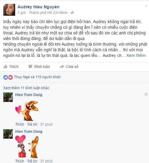 Vay da hoi cua Hoa khoi ao dai gay tranh cai, Lan Khue len tieng benh vuc hinh anh 3
