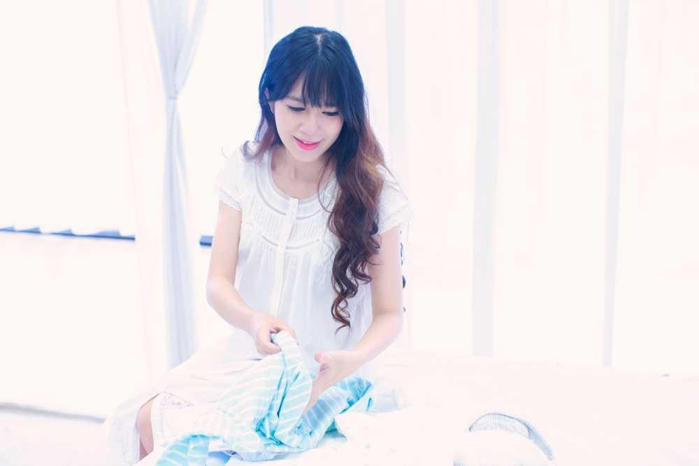 Mang thai lan 4, Minh Ha van giu nhan sac hot girl dang ghen ti hinh anh 3