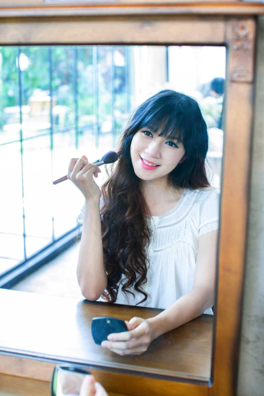 Mang thai lan 4, Minh Ha van giu nhan sac hot girl dang ghen ti hinh anh 5