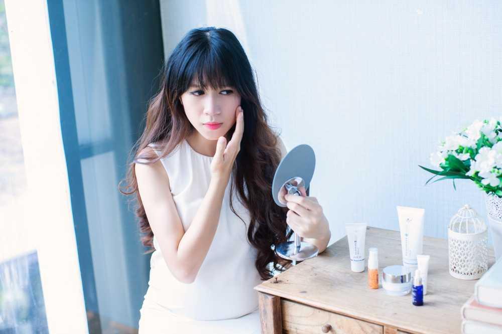 Mang thai lan 4, Minh Ha van giu nhan sac hot girl dang ghen ti hinh anh 6
