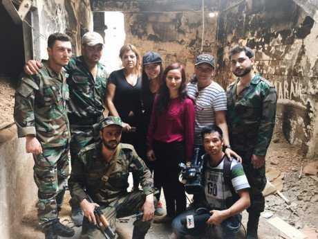 Dan mang 'day song' voi 'Ky su Syria' tren VTV cua nha bao Le Binh hinh anh 2