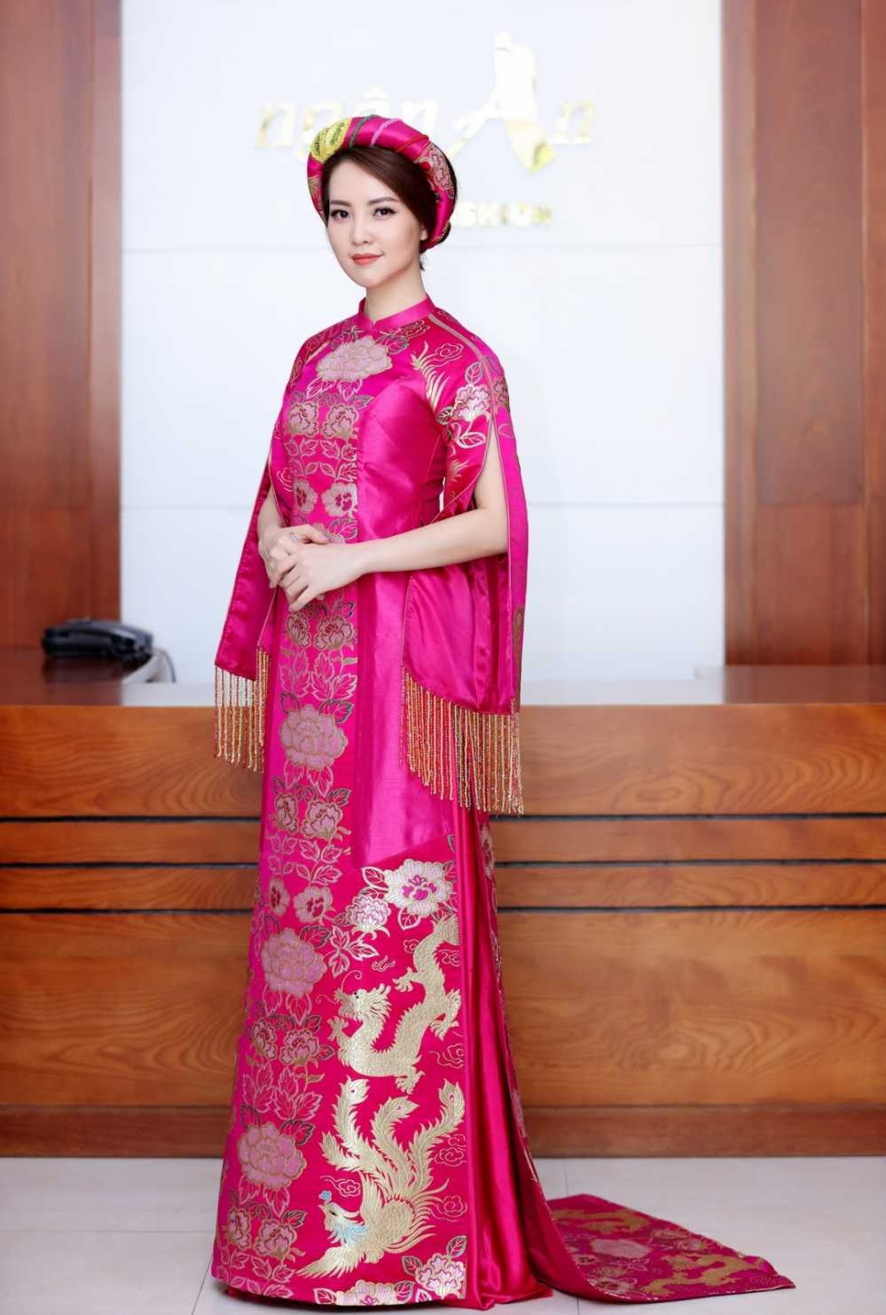 Thuy Van thu vay ao chuan bi lam MC chung ket Hoa hau Viet Nam 2016 hinh anh 4